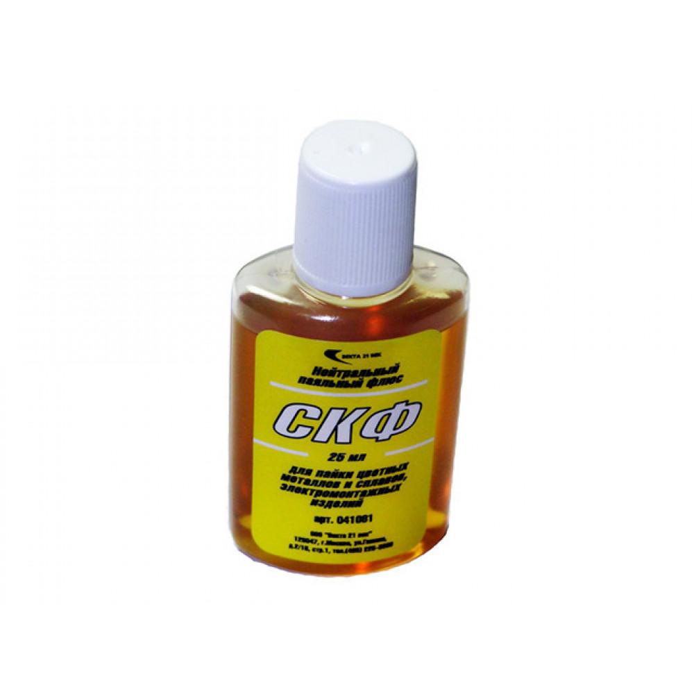 Флюс СКФ (25мл) (жидкая канифоль) (Векта) (41081)