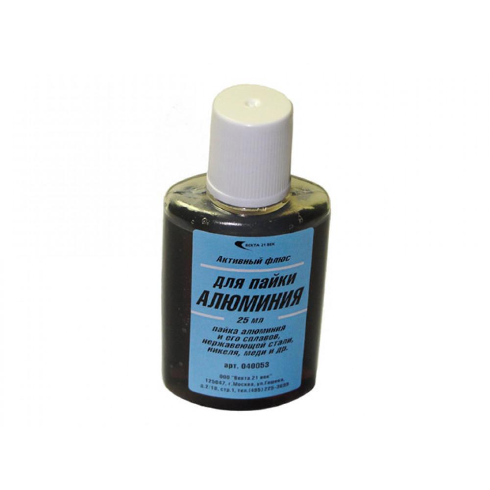 Флюс для алюминия (25мл) (Векта) (40053)