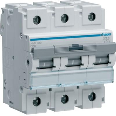 Выключатель автоматический Hager HMK380