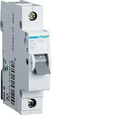 Выключатель автоматический Hager MC132A