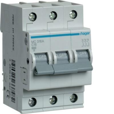 Выключатель автоматический Hager MC316A