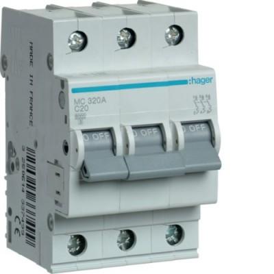 Выключатель автоматический Hager MC320A