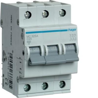 Выключатель автоматический Hager MC325A