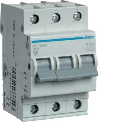 Выключатель автоматический Hager MC363A