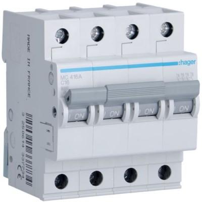Выключатель автоматический Hager MC416A
