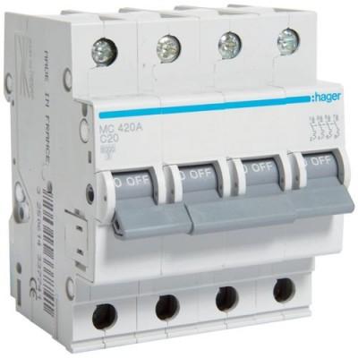 Выключатель автоматический Hager MC420A