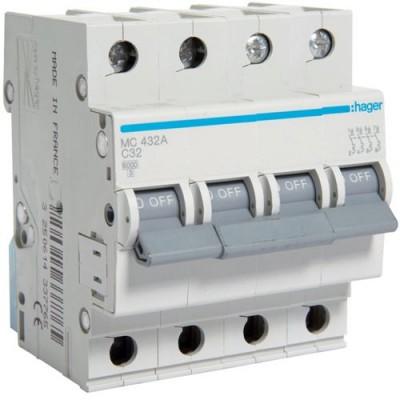 Выключатель автоматический Hager MC432A