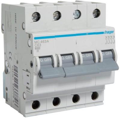 Выключатель автоматический Hager MC463A