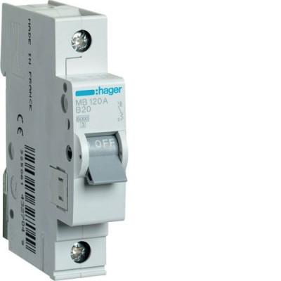 Выключатель автоматический Hager MB120A