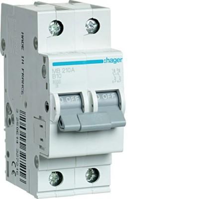 Выключатель автоматический Hager MB210A