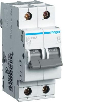 Выключатель автоматический Hager MB216A