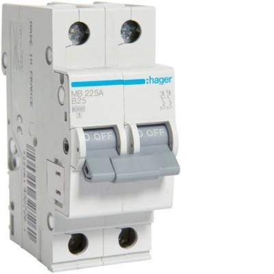 Выключатель автоматический Hager MB225A
