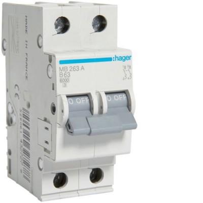 Выключатель автоматический Hager MB263A