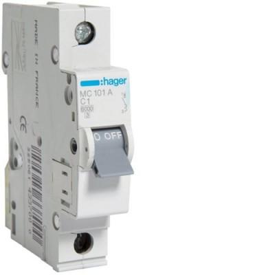 Выключатель автоматический Hager MC101A