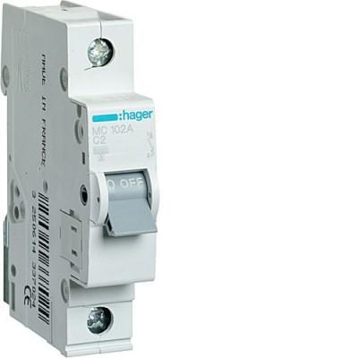 Выключатель автоматический Hager MC102A