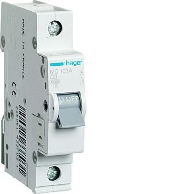 Выключатель автоматический Hager MC103A