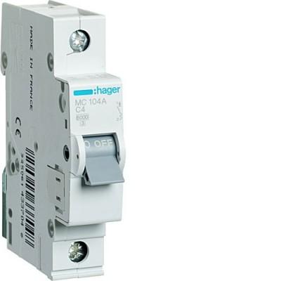 Выключатель автоматический Hager MC104A