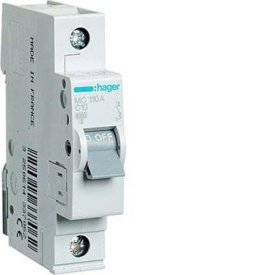 Выключатель автоматический Hager MC110A