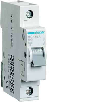 Выключатель автоматический Hager MC113A