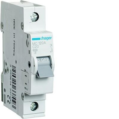 Выключатель автоматический Hager MC120A