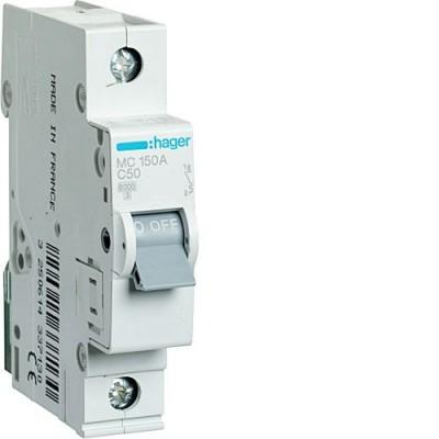 Выключатель автоматический Hager MC150A