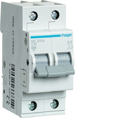 Выключатель автоматический Hager MC210A