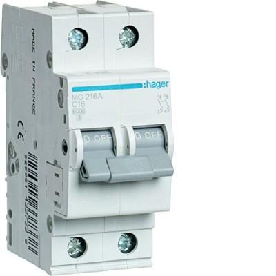 Выключатель автоматический Hager MC216A