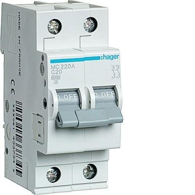 Выключатель автоматический Hager MC220A