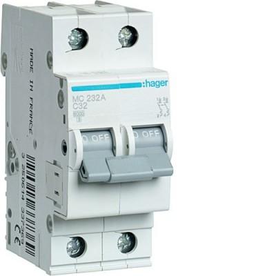 Выключатель автоматический Hager MC232A