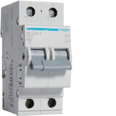 Выключатель автоматический Hager MC250A